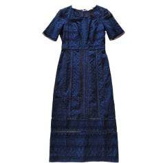 Robe longue BA&SH Bleu, bleu marine, bleu turquoise