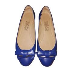 Ballet Flats SALVATORE FERRAGAMO Blue, navy, turquoise