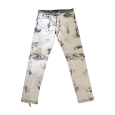 Skinny Jeans JUST CAVALLI White/grey