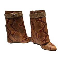 High Heel Boots GIVENCHY Animal prints