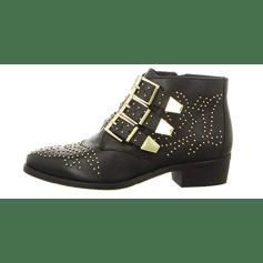 Santiags, bottines, low boots cowboy BRONX Noir
