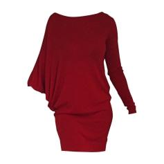 Midi-Kleid DIANE VON FURSTENBERG Rot, bordeauxrot