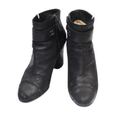 Bottines   low boots Chanel Femme   articles luxe - Videdressing 0404b568a76