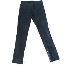 Pantalone slim, a sigaretta PATRIZIA PEPE Nero