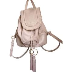 Backpack SEE BY CHLOE Beige, camel