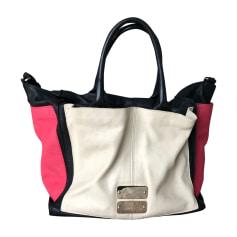 Leather Handbag SEE BY CHLOE Beige, rose, noir