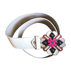 Skinny Belt CHRISTIAN LACROIX White, off-white, ecru