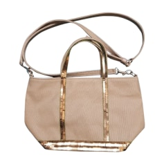 Non-Leather Shoulder Bag VANESSA BRUNO Khaki