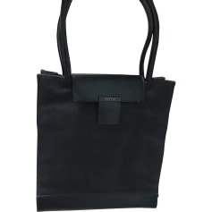 Leather Handbag LANVIN Black