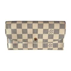 Wallet LOUIS VUITTON Joséphine Blue, navy, turquoise