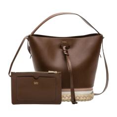 Leather Handbag FURLA Brown