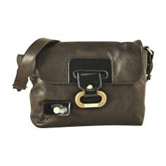 Leather Shoulder Bag SONIA RYKIEL Brown