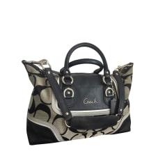 Non-Leather Shoulder Bag COACH Noir et gris