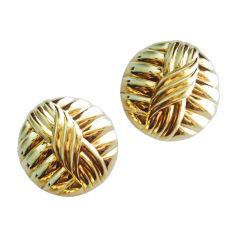 Ohrringe LANVIN Gold, Bronze, Kupfer