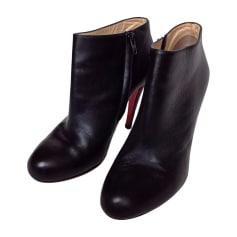Cowboy Ankle Boots CHRISTIAN LOUBOUTIN Black