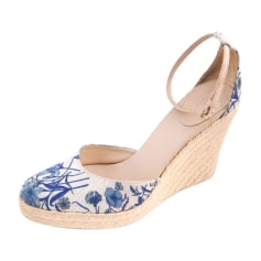 Wedge Sandals GUCCI ivory
