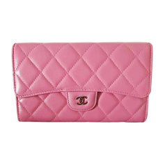 Wallet CHANEL Pink, fuchsia, light pink