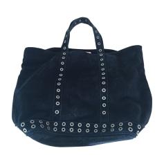 Leather Oversize Bag VANESSA BRUNO Black