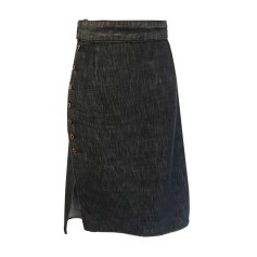 Denim Skirt MIU MIU Blue, navy, turquoise
