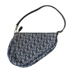 Non-Leather Handbag DIOR Saddle Blue, navy, turquoise