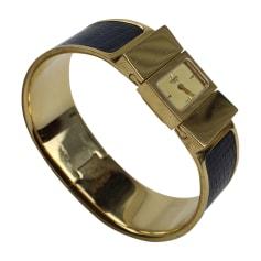 Armbanduhr HERMÈS Gold, Bronze, Kupfer