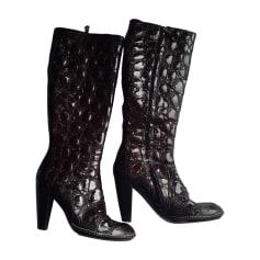 High Heel Boots BALDININI Red, burgundy
