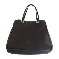 Leather Oversize Bag FURLA Black