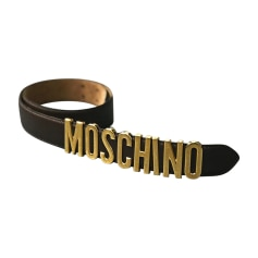Ceintures Moschino Femme   articles luxe - Videdressing 0eb98a56132