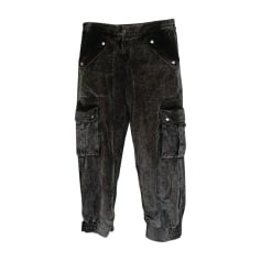 Wide Leg Pants SONIA RYKIEL Gray, charcoal