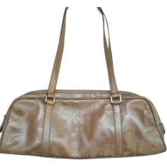 Leather Handbag JEAN PAUL GAULTIER Beige, camel