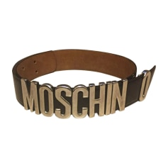 Wide Belt MOSCHINO Black