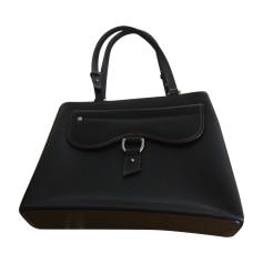 Leather Shoulder Bag RALPH LAUREN Black