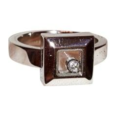 Anello CHOPARD Argentato, acciaio