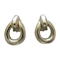 Earrings DIOR Golden, bronze, copper