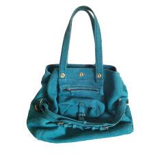Sac à main en cuir JEROME DREYFUSS Bleu, bleu marine, bleu turquoise
