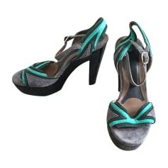 Heeled Sandals MARNI Multicolor