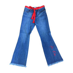 Boot-cut Jeans, Flares SONIA RYKIEL Blue, navy, turquoise