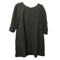 Mini Dress BA&SH Gray, charcoal