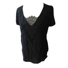Top, T-shirt COMPTOIR DES COTONNIERS Black
