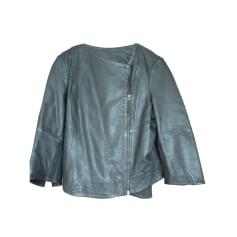 Leather Jacket IKKS Black
