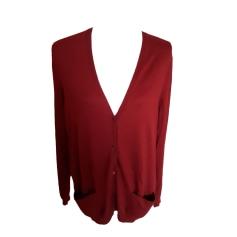 Vest, Cardigan ERIC BOMPARD Red, burgundy