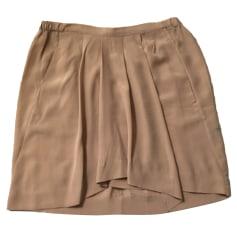 Mini Skirt THE KOOPLES Beige, camel