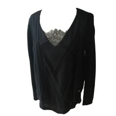 Vest, Cardigan COMPTOIR DES COTONNIERS Black