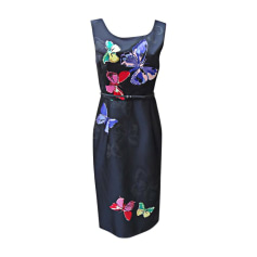 Midi Dress MARC JACOBS Noir/Multicolore