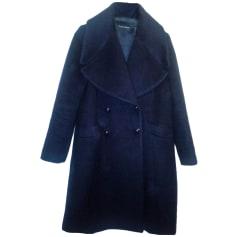 Coat TARA JARMON Blue, navy, turquoise