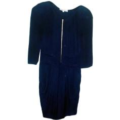 Mini Dress SANDRO Blue, navy, turquoise