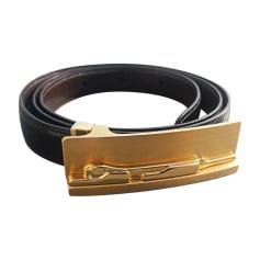 Skinny Belt CARTIER Black