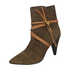 High Heel Boots ISABEL MARANT Golden, bronze, copper
