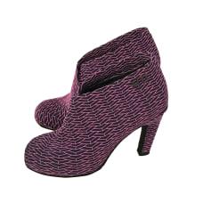 Bottines & low boots à talons UNITED NUDE Violet, mauve, lavande