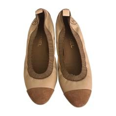 Ballerinas CHANEL Beige
